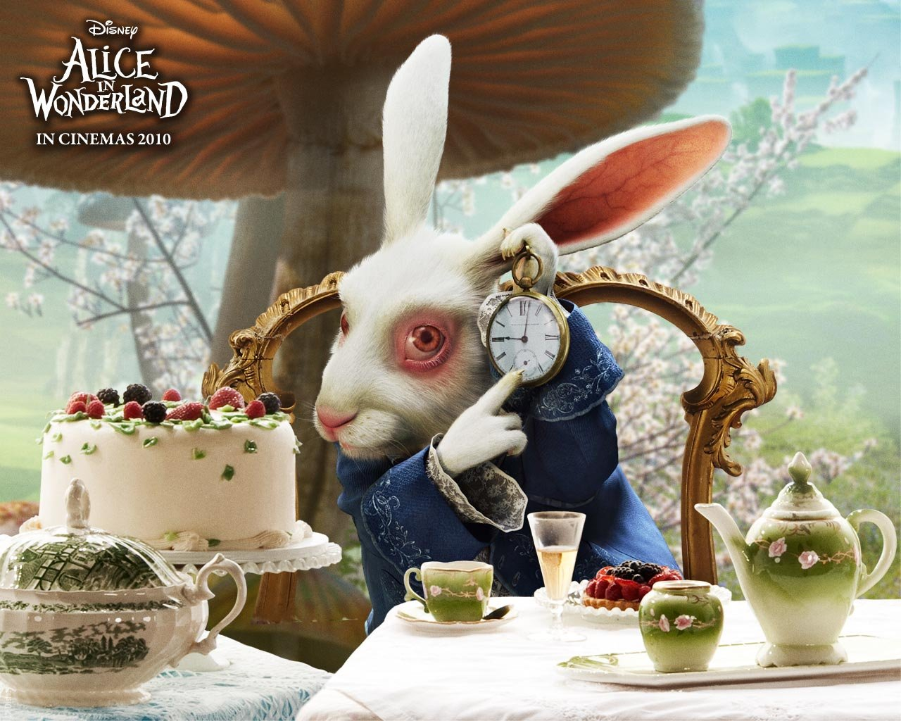 Alice in Wonderland Movie Poster For Desktop