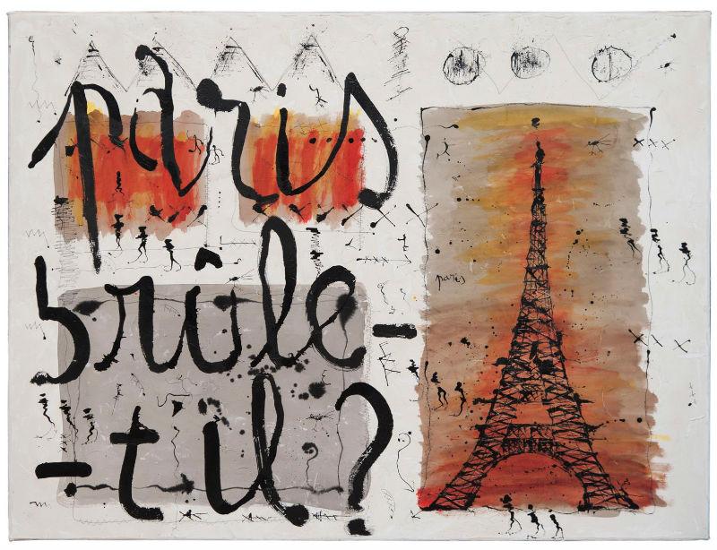 Paris brule-t-il Zanda