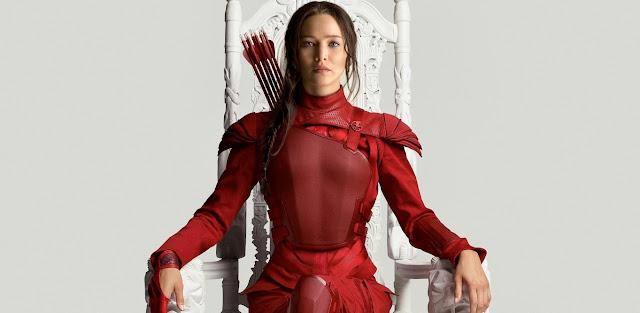 Katniss Everdeen estampa artes inéditas de Jogos Vorazes: A Esperança - O Final