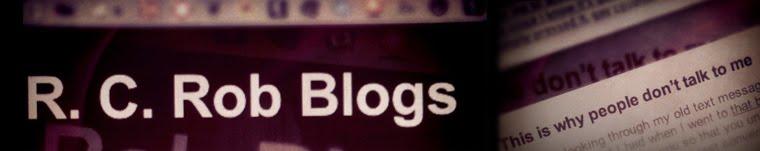 R. C. Rob Blogs