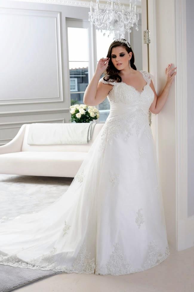Vestidos de novia actuales para gorditas