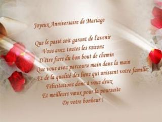 Texte félicitations 50 ans mariage