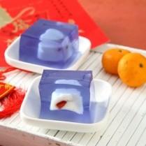 cara membuat puding aneka buah