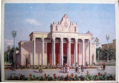 Nueva Moscu de Stalin ,arquitectura Sovietica - Página 2 Salon+rural