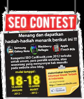 Info kontes Seo Informasi Kredit Terbaik di Indonesia