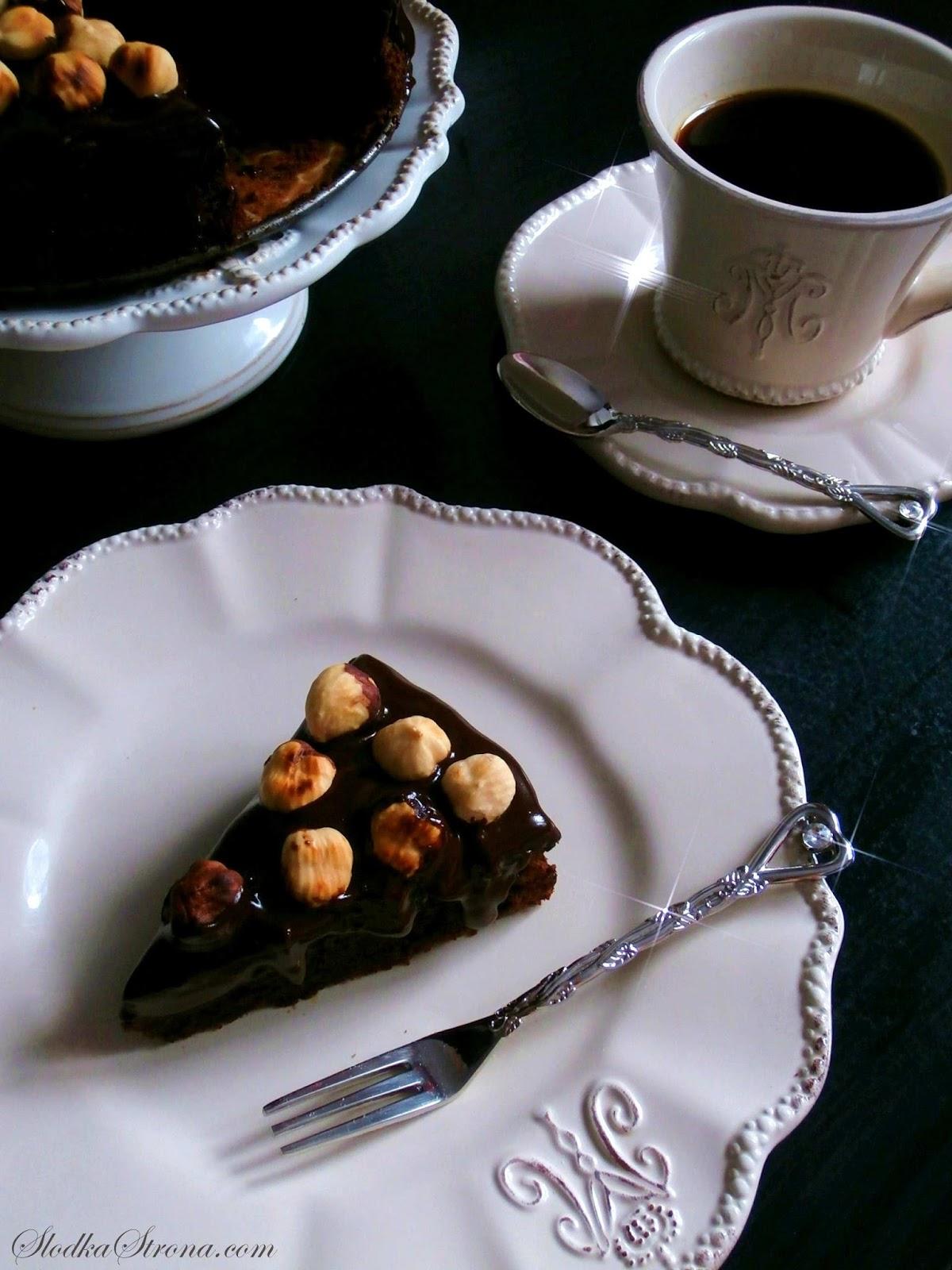 Ciasto Nutella (Nutella Cake Nigelli Lawson) - Przepis - Słodka Strona