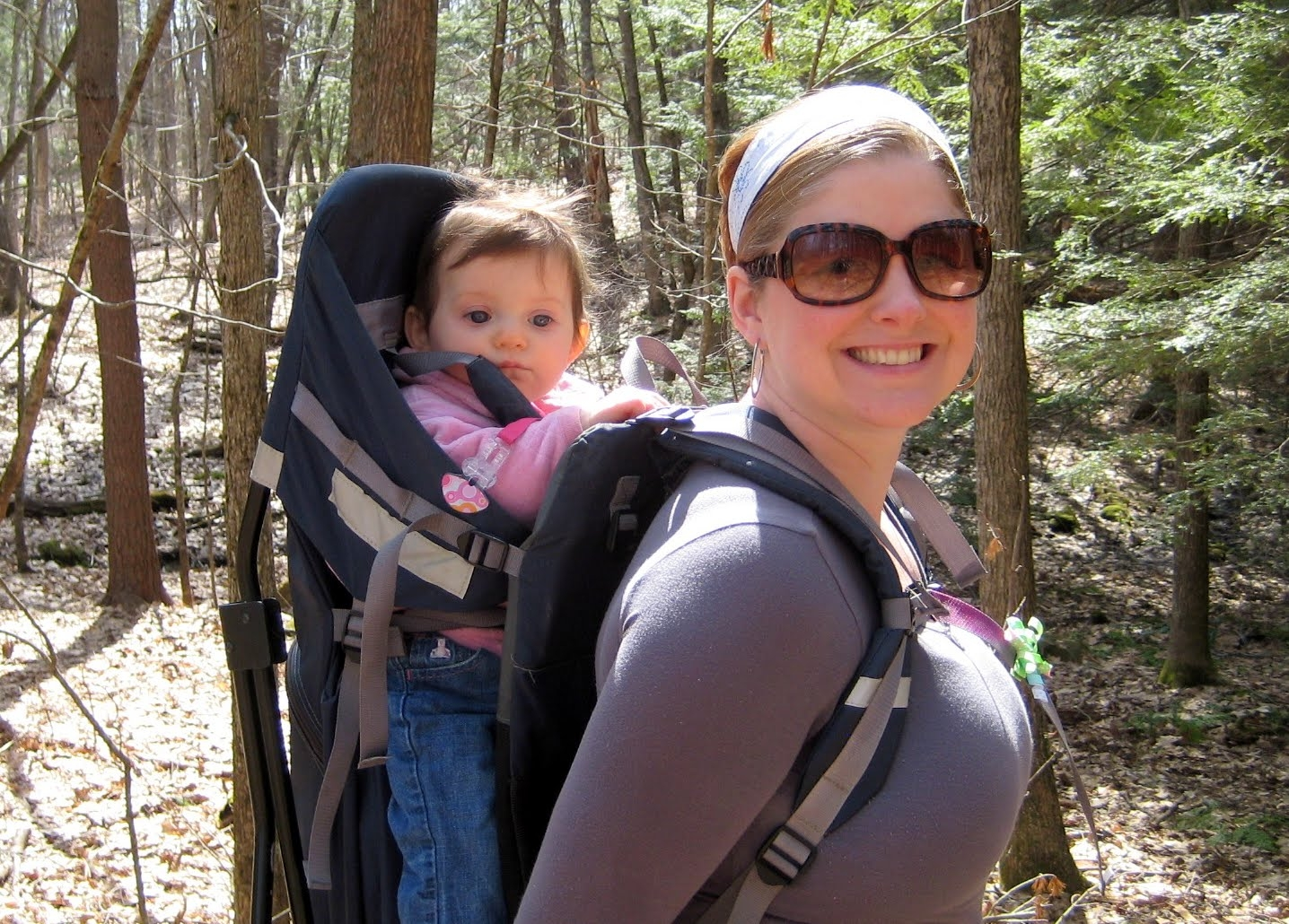 Ll Bean Baby Backpack Carrier Hiking Regreen Springfield