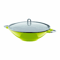 Bodum Chambord Enameled Cast Iron Wok