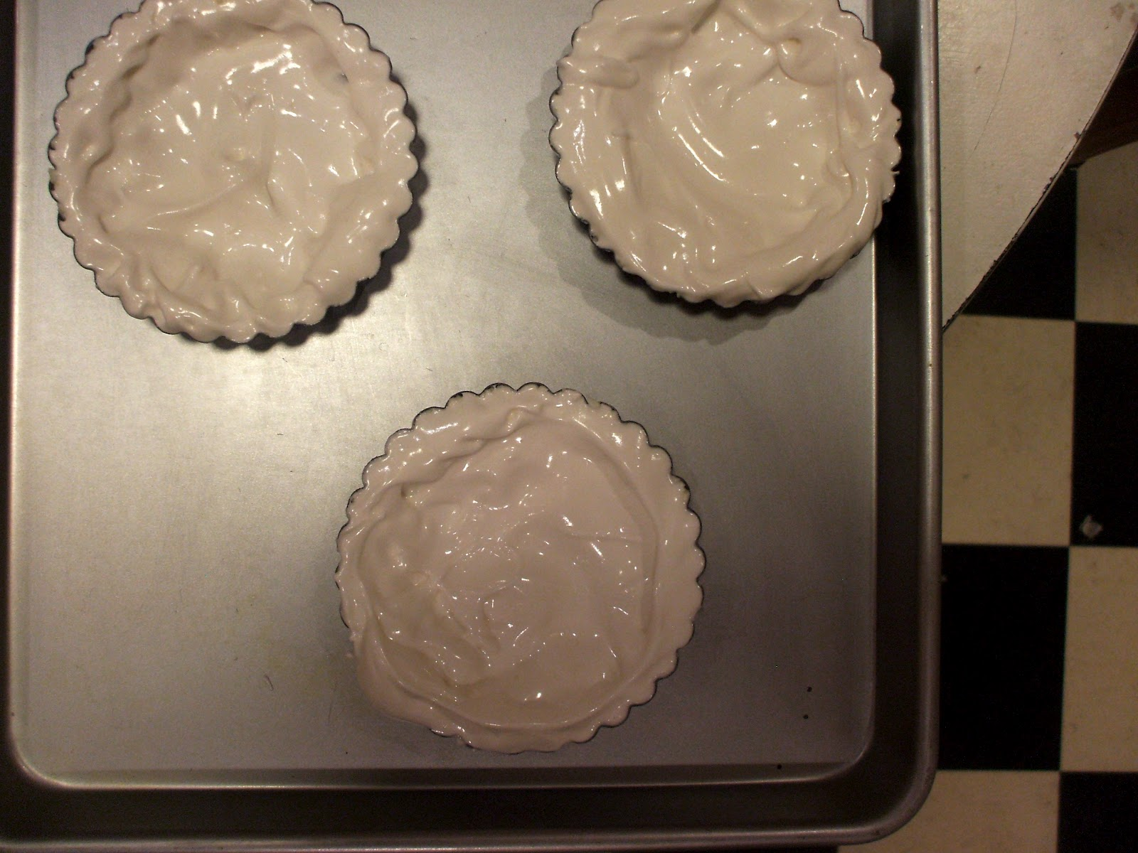 Nothing in the House: Chocolate Angel Tartlets