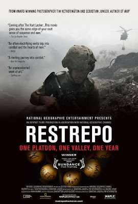 Watch Restrepo 2010 BRRip Hollywood Movie Online | Restrepo 2010 Hollywood Movie Poster