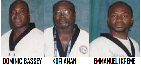 MOST SENIORS NIGERIA TAEKWONDO FIRST GENERATION BLACK BELTS