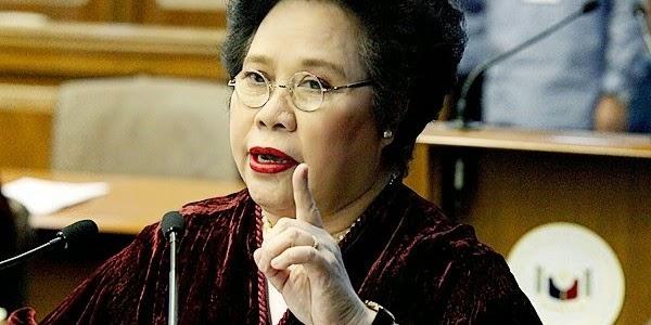 Sen. Miriam Santiago