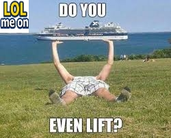 Do You Even Lift ? - Funny Picture With Caption  Funny pictures