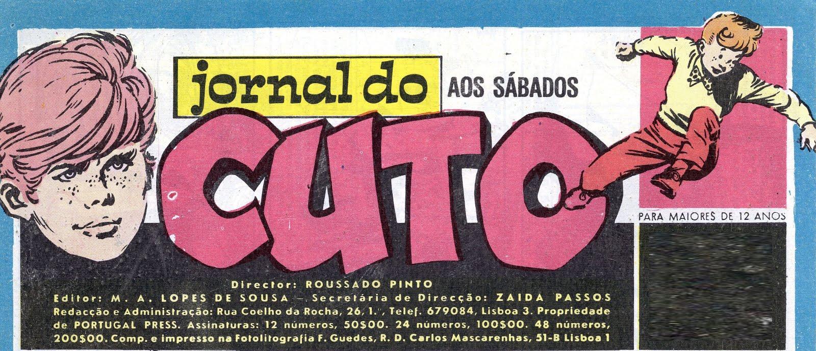 Todos los sábados: Jornal do Cuto, en colaboración con Tralhas Varias...