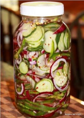 Refrigerator Cucumber Salad