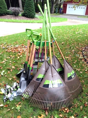 Cadillac Garden Club A Gift of Garden Tools for Our Garden Projects