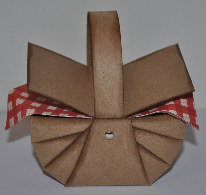 Basket Weaving Using Construction Paper : My paper crafting challenge picnic