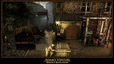 Screen Shot Of Adams Venture 3 Revelations (2012) Full PC Game Free Download At Downloadingzoo.Com