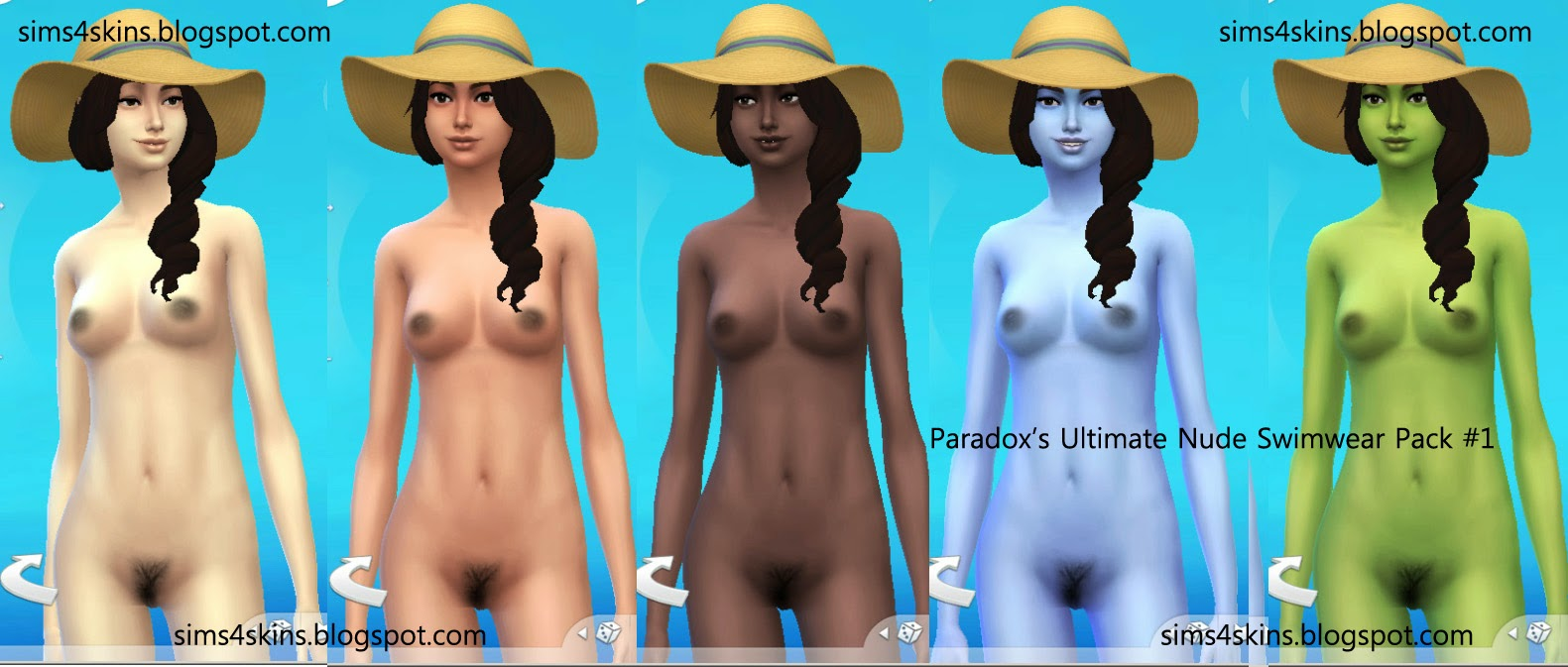 Naked skins for sims nude pic
