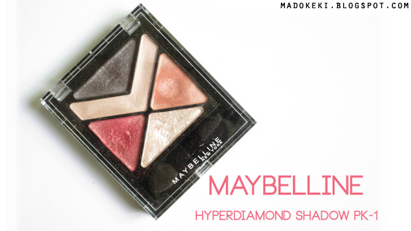 Maybelline Hyperdiamond Eye Shadow PK-1