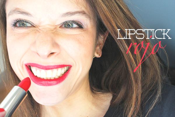 lipstick rojo