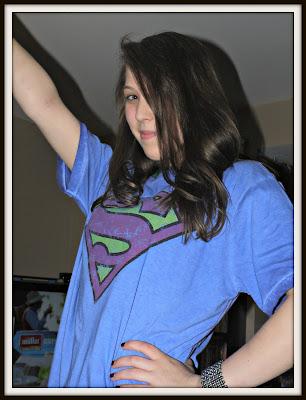Fabric Flavours, t-shirt, superman