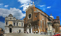 Венеция, площадь Санти-Джованни э Паоло, скуола Сан-Марко