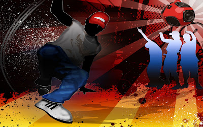 hiphop dans - creative hip hop wallpapers