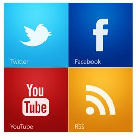 اضافة الاشتراك عبر المواقع الاجتماعية