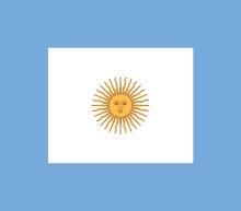 Bandera de proa de la Armada Argentina