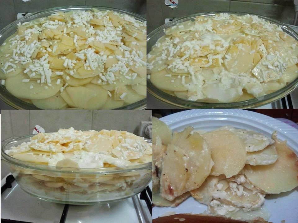 potato gratin step by step