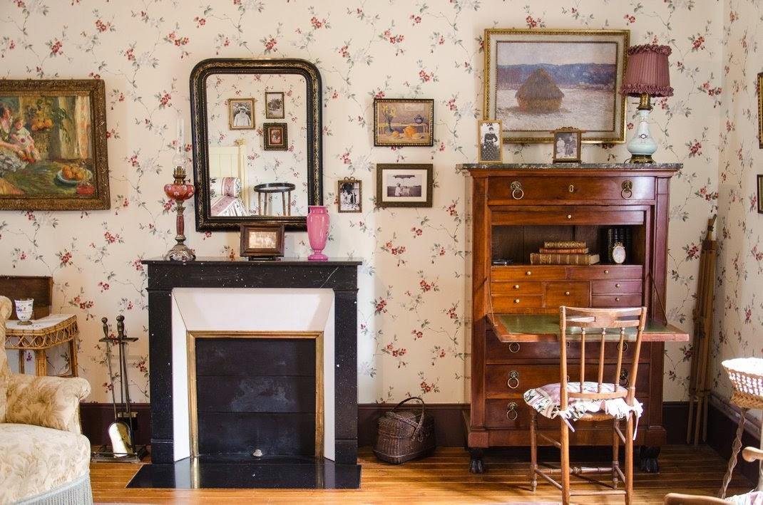 Giverny  - maison de Monet - chambre Blanche Hoschedé