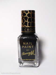 Barry M Croc Nail Effects