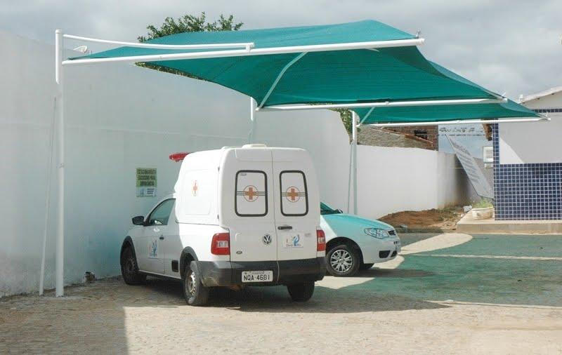 Prefeitura instala proteção para veículos em Ouro Velho