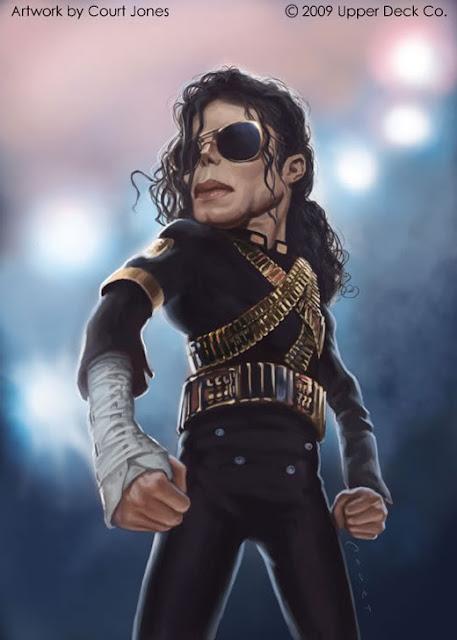 karikatur MJ