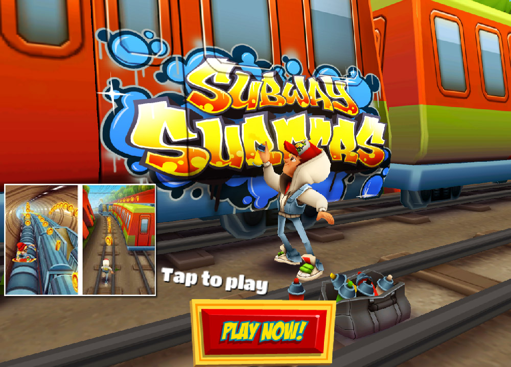 Free Games To Play Now : Download and play subway surfers free games