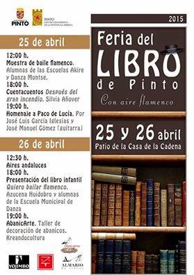 Feria del libro Pinto