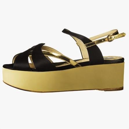 Moschino: sandali a mattonella 90' style
