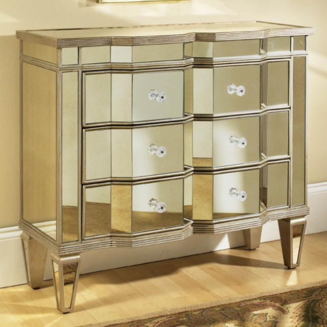 Copy Cat Chic Horchow Chelsea Mirrored Chest