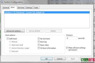 Cara Baru Mempercepat Starup Windows dengan Msconfig