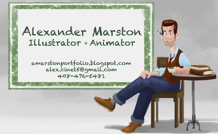 Alex Marston Portfolio
