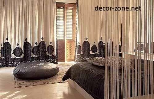 bedroom curtains designs