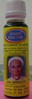 Minyak Gamat Haji Din