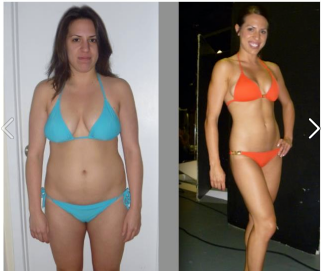 Brazilian bikini body program