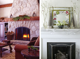 Fireplace Decorating for Christmas, Part 6