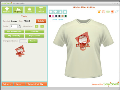 Software Desain Kaos (Desktop T Shirt Creator)