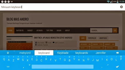 Minuum Aplikasi Keyboard Android Terbaik