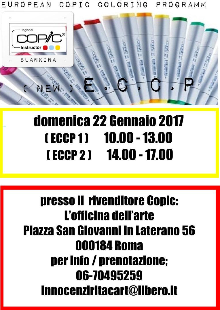 Nuovo ECCP 1 e 2 , 22 Gennaio 2017 , Roma