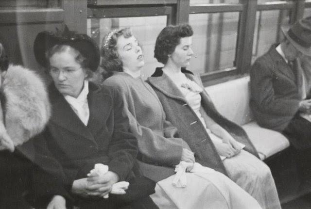 Fotos del metro de Nueva York de un joven Stanley Kubrick