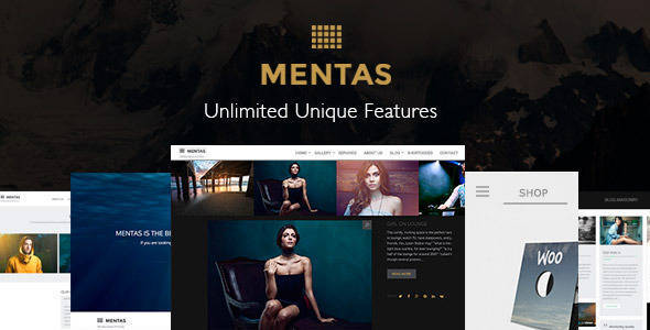Mentas - Creative Portfolio for Freelancer & Agency - Creative Portfolio